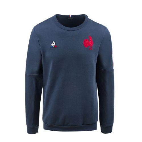 France Domicile et ext/érieur T-Shirt /à Manches Courtes Polo 16,17,18,19 Saison Fans Broderie T-Shirt de Rugby Haut de Sport 16 home-3XL Maillots de Rugby pour Hommes